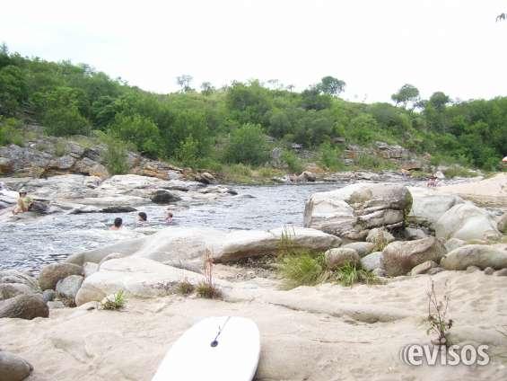 Vacaciones: departamentos con bajada al rio