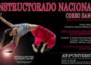 INSTRUCTORADO NACIONAL DE COREO DANCE (ORIENTACION EN JAZZ)