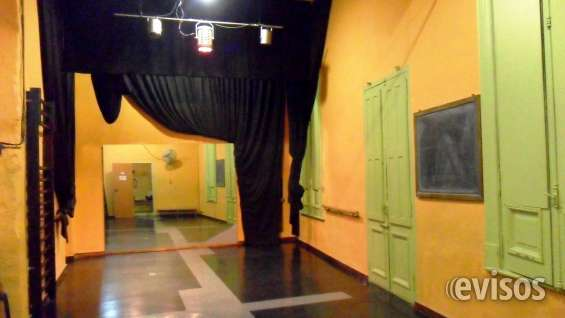 Alquiler sala clases y ensayos teatro- danza