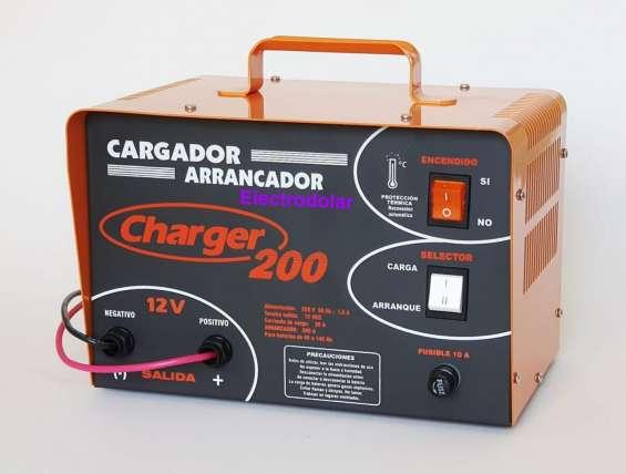Cargador de bateria y arrancador charger 200