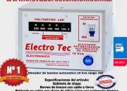 Elevadores de Tensión 16000 Watts   16kVA   63A ideal para 5 aires acondicionados