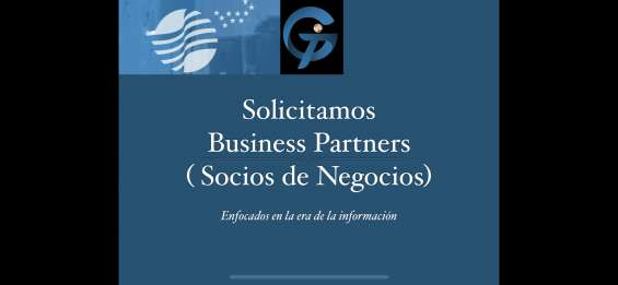 Solicitamos business partners