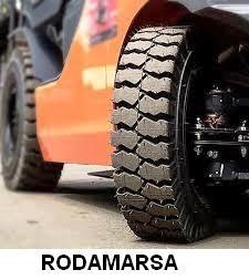 Fotos de Cubierta maciza 650x10 650 x 10 autoelevadores rodamarsa continental 11