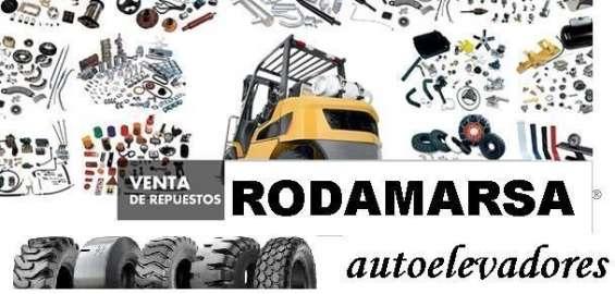 Fotos de Cubierta maciza 650x10 650 x 10 autoelevadores rodamarsa continental 10
