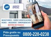 Alarmas para casas 0800-220-0238 - adt agente oficial