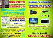 Reparacion de tv; led,lcd,audio,microondas etc