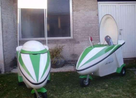 Vendo carros de lavado movil ecológicos