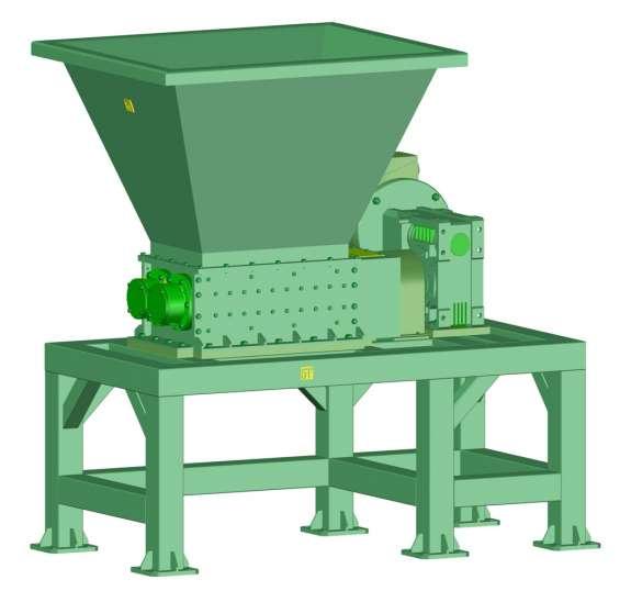 Trituradora de plásticos. solo planos de manufactura + manual de ensamble.