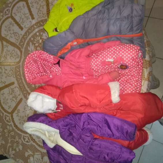 Lote de camperas niña 2 años