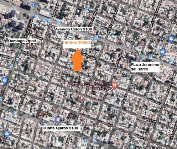 Terreno para desarrollo inmobiliario con factibilidad de construccion 1300m2