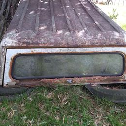 Cupula de chapa para ford f100 . $ 5.000 -