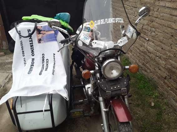 Vendo moto con sidecar o sidevares solos colocados a tu moto