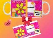 SET de taza y tarjeta personalizadas Día del amigo