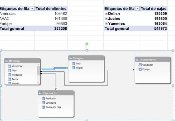 Excel como base de datos